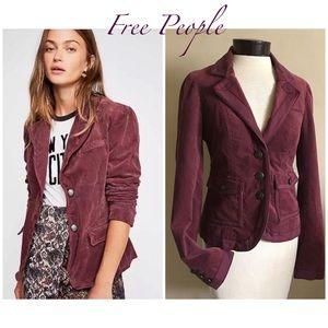 Free People Velvet Jacket